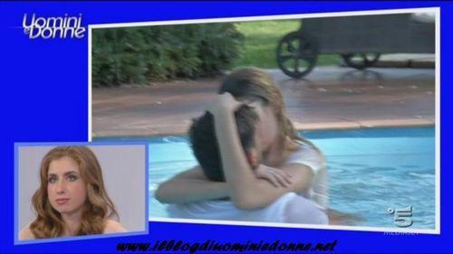 Primo bacio fra Marco Fantini e Jessica Iannaccio