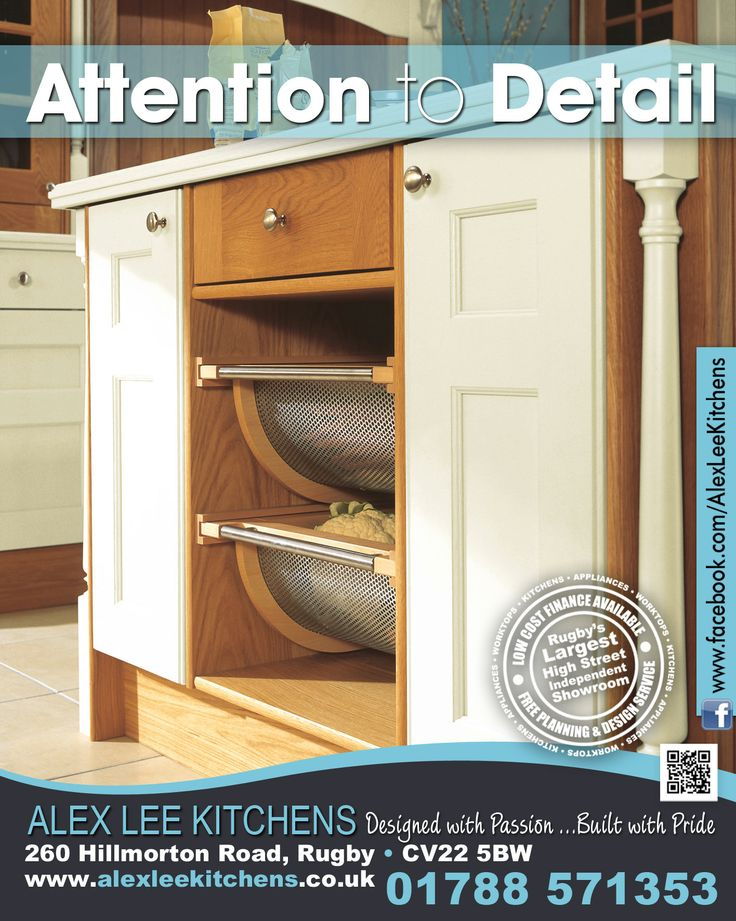 Advert for Alex Lee Kitchens