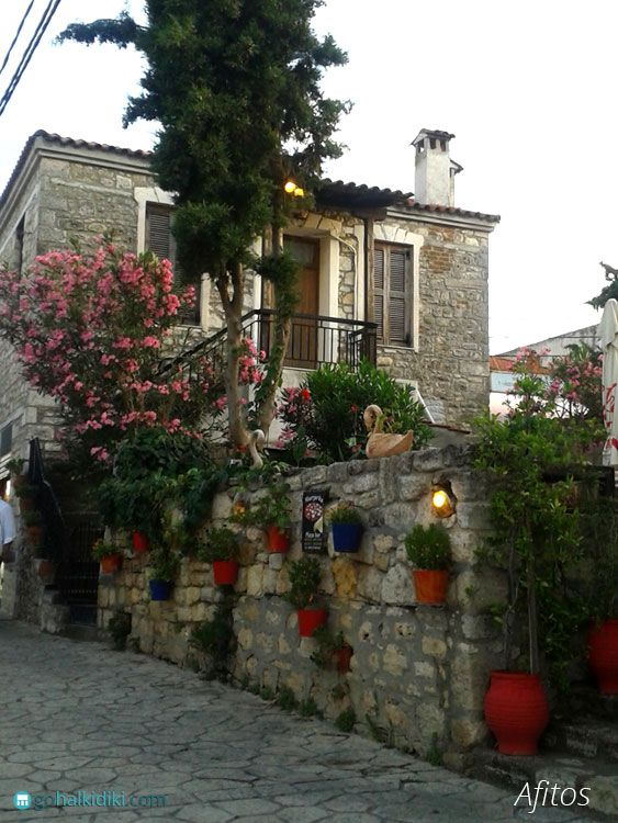 Traditional village of #Afitos in #Halkidiki  http://gohalkidiki.com/