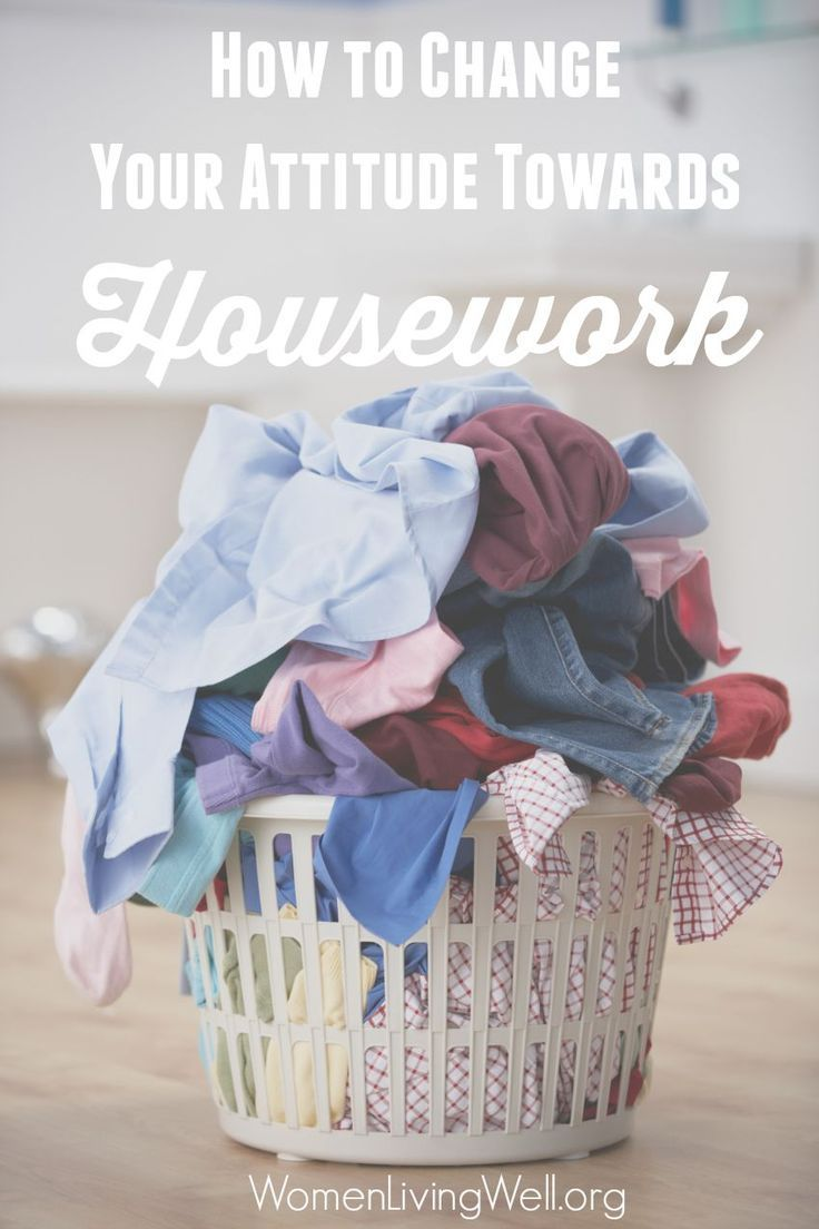 The work of a woman is never ending.  There is always another load of laundry to run, another meal to cook or someone that needs tending to inside or outside the home. It's hard to remain selfless and joyful when we are stressed out and discontent.  Let's look at the Proverbs 31 woman and How to Change Our Attitude Towards Housework