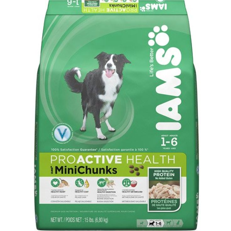 Iams minichunk dog food you can learn more by visiting