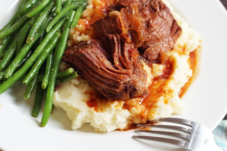 A slow cooker pot roast is a welcome sight on a cold and busy evening. The slow braise allows the flavors to develop, making a solid, meaty supper.