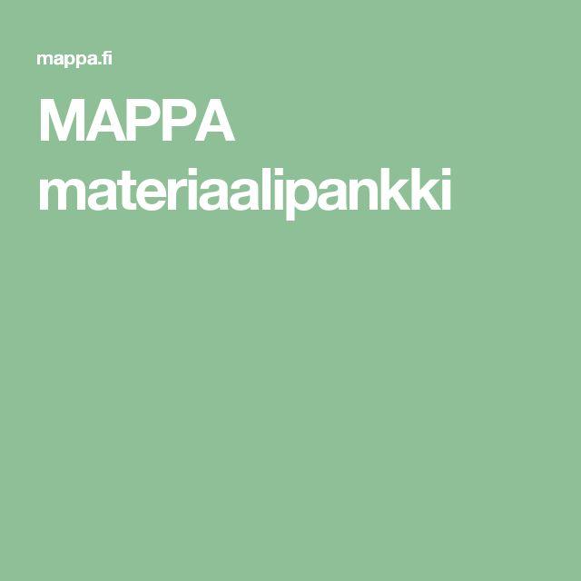 MAPPA materiaalipankki