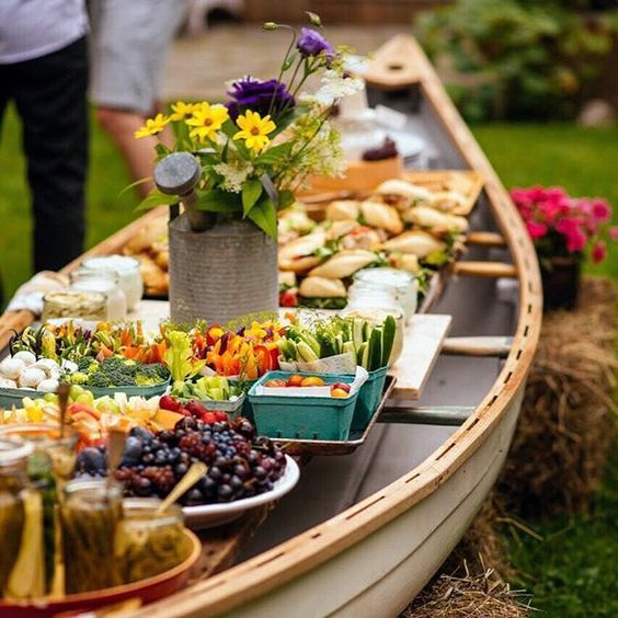 I pinky swear, this is the last time I will use the words 'canoe' and 'buffet' together in a…