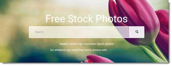 Megapixelstock, fotografías de dominio público para proyectos creativos