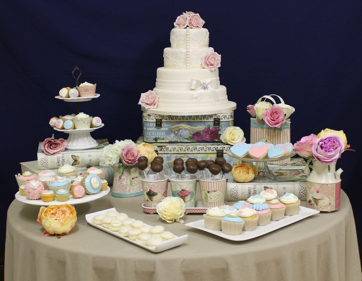 Picture afternoon-tea-table « Wedding Cakes   Toptier