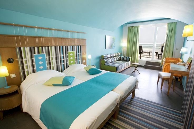 Club Med Djerba la Douce - Tunisie - Laissez vous tenter par les toutes Chambres Deluxe, confortables et raffinées, avec vue sur la mer.
