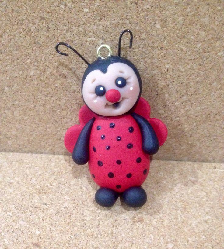 Cute ladybug keyrings