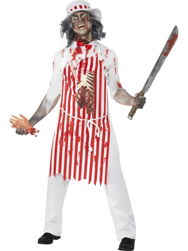 Hell S Kitchen Bloody Butcher Costume Costume Ideas Zombie