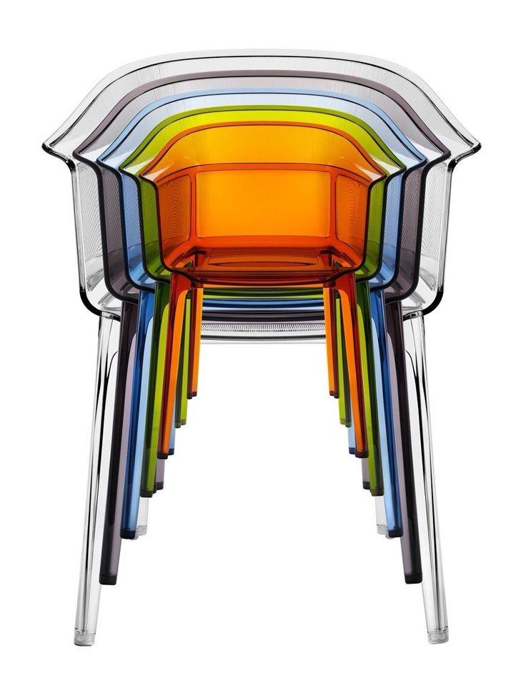 Les 25 meilleures id es concernant chaise plastique - Tabouret plastique transparent ...