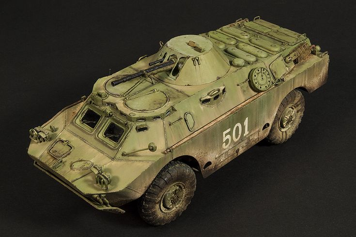 1/35 military scale model, Trumpeter BRDM-2 Late. Pinned by #relicmodels