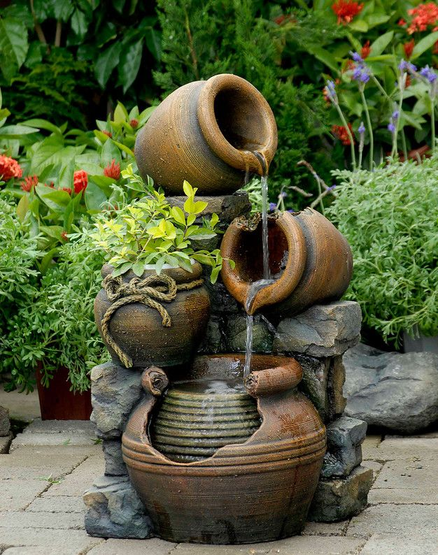 615 best Landscaping fountains and water bubblers images on
