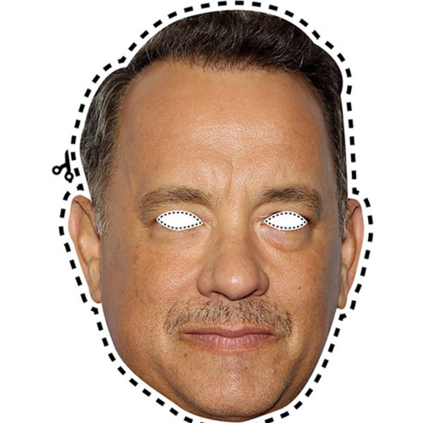 Assorted downloadable Tom Hanks masks, because why not? diy halloween costume.  easy