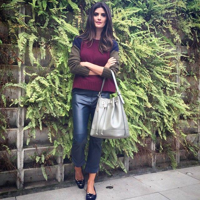 #ShareIG Olha minha bolsa #isabellafiorentinoparaluxcel que linda!!! Adoro bolsa saco ,essa,em encontra em todas as lojas @inovathi