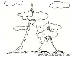 """УРОК  ТРИДЦАТЫЙ  ГЕОСКАЗКА """"Гора"""" (Склон, вершина, пик, подошва) ГЕОСЛОВАРИК, ГЕОЗАДАНИЯ"""