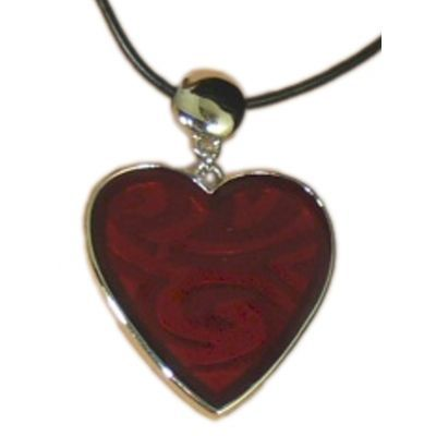 Jewellery :: Fashion :: Red heart necklace - $25