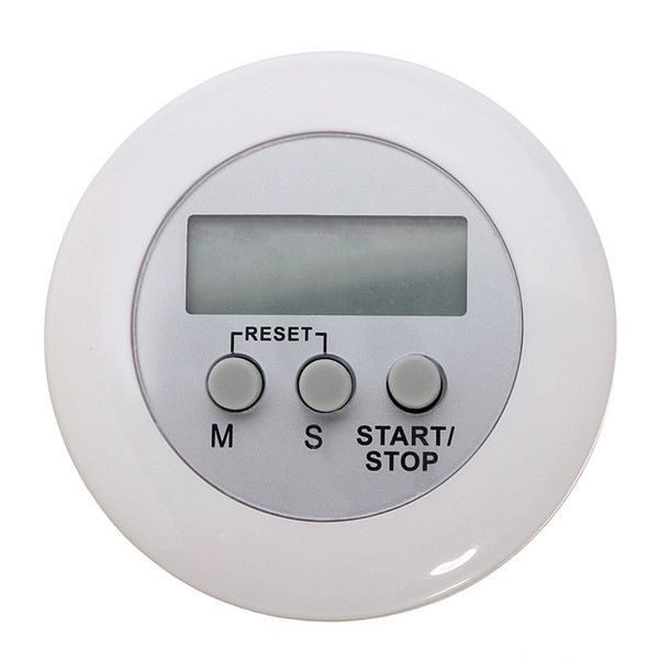 White Mini Magnetic Digital Lcd Countdown Timer Alarm. timer is available now from our US and UK warehouse  Free shipping to US and UK in 5-12 business days ship to Other European countries in 7-15 days  Description :  Mini Magnetic Digital LCD Countdown Timer Clock Alarm White  Digital LCD Timer Stop Watch Kitchen Cooking Countdown Clock Alarm This production can setting noon break time, study time, hair dressing time, stew soup, printing down etc Maximum countdown capacity of 99…