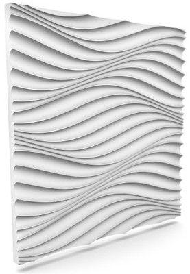 Styropianowe PANELE ŚCIENNE 3D 60x60 cm WIATR