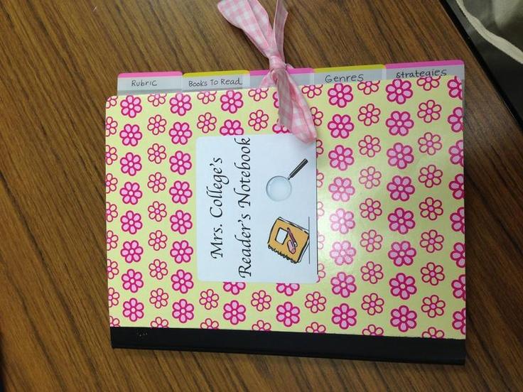 Classroom Notebook Ideas : Reader s notebook classroom ideas pinterest cute