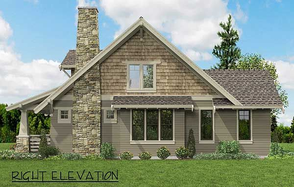 Bungalow With Open Floor Plan & Loft - 69541AM | Bungalow, Cottage, Craftsman, Northwest, Narrow Lot, 1st Floor Master Suite, CAD Available, Den-Office-Library-Study, Loft, PDF | Architectural Designs