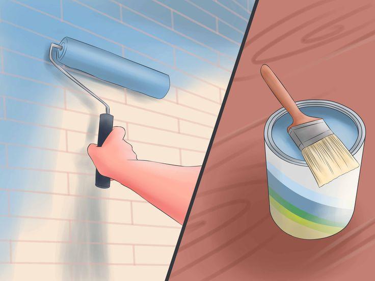 How to Paint Masonry Walls -- via wikiHow.com