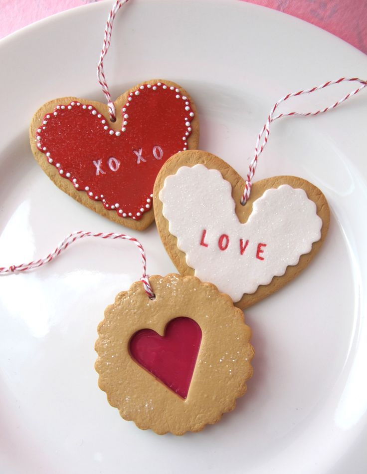 Valentine's Day Cookies #polymerclay tutorial from Polyform