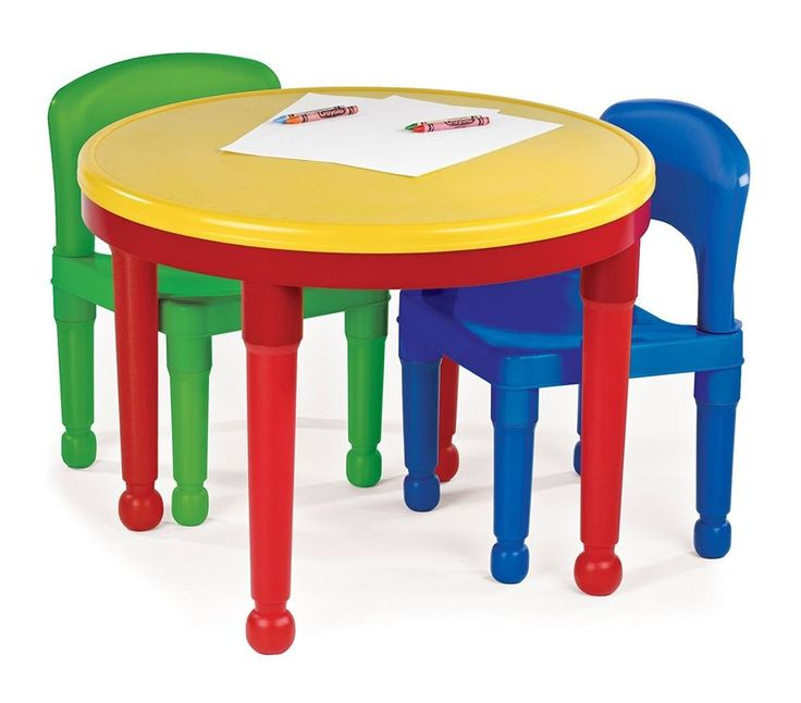 kids table and chairs set play toddler child toy activity furniture tottutors