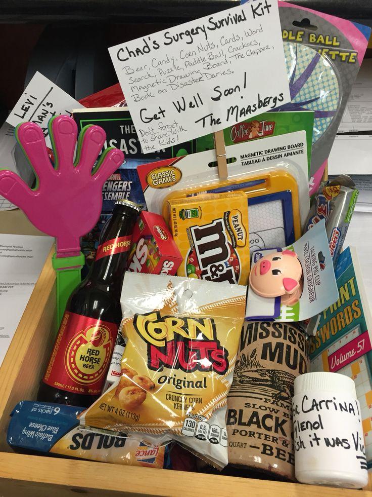 Get Well Soon Basket! | Craft & Gift Ideas | Get well soon ...