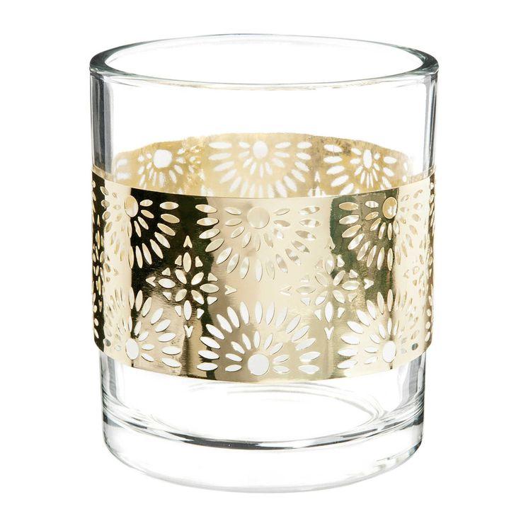 maison du monde verre bougie bocal parfume coquelicot en. Black Bedroom Furniture Sets. Home Design Ideas