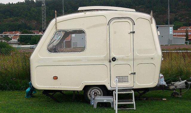 Old Predom caravan by annkarlstedt, via Flickr