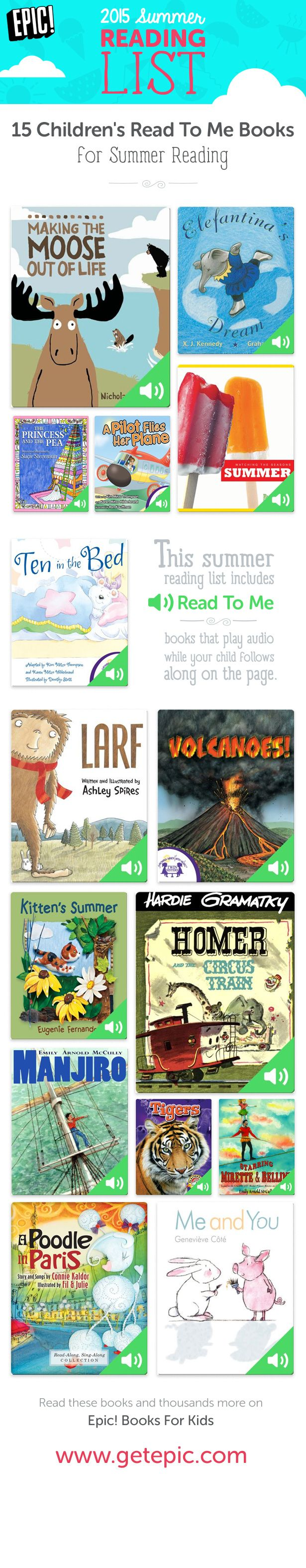 Check Out 15 Of Our Favorite Summer Read To Me Picture Books! Read To Me
