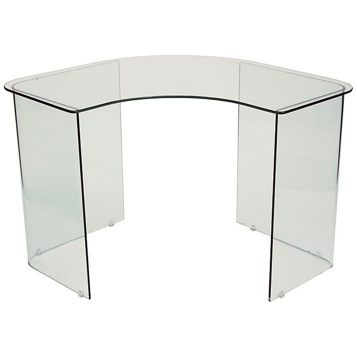 Best 25 Glass Corner Desk Ideas On Pinterest Modern