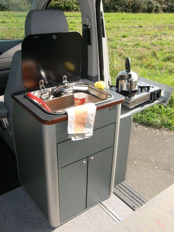 EEKENDER PLUS Ü1,90 - mit Multivan-Küchenteil(Trailer Camping Hacks)