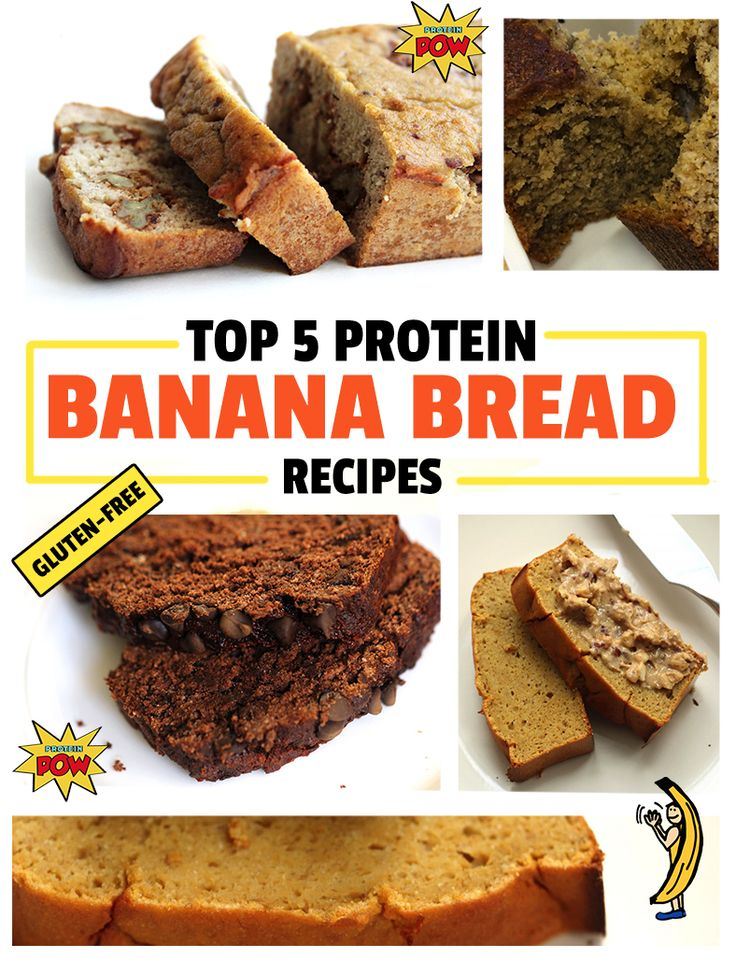 how to make low carb high protein banana bread