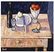Archie Forrest - Artist's Table (Paintings) h: 18 x w: 20 in / h: 45.7 x w: 50.8 cm