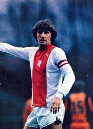 Ruud Krol, Netherlands (Ajax, Vancouver Whitecaps, Napoli, AS Cannes, Netherlands)