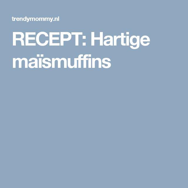 RECEPT: Hartige maïsmuffins