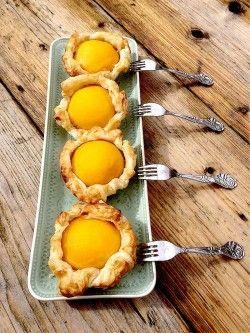 Perzik-noten gebak