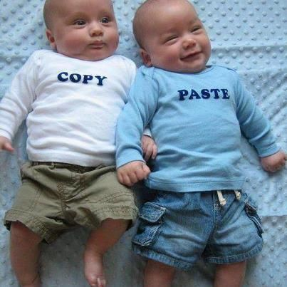 CTRL + C.(Copy),.CTRL + V(Paste)..