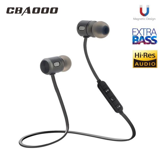 Bass Bluetooth Earphone Wireless Earphones With Mic Magnetic In Ear Bluetooth Earbuds Headset For Mobile Phone Sports Kulakl K Review Earbuds Bluetooth Earbuds Wireless Earphones