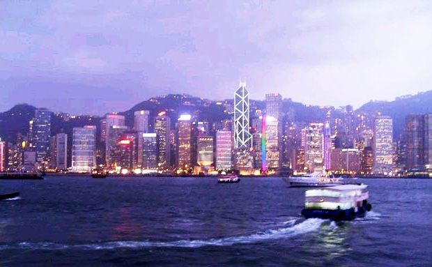 Celebrating Hong Kong Chinese New Year on Victoria Harbour Cruise