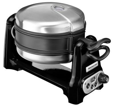 This is exactly the waffle machine ive wanted! One day! KitchenAid Waffle Maker - Yuppiechef