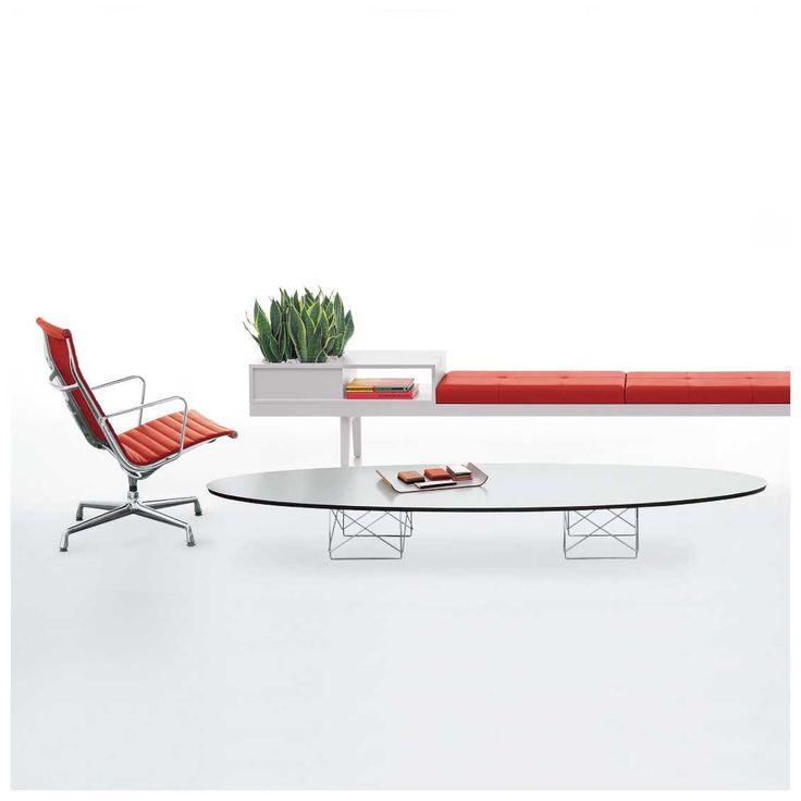 """Is het een surfplank of is het een tafel? De #Vitra #ETR #salontafel ook bekend als """"Surfboard Table"""" is een #modieuze #design #tafel, die een speciale look aan je interieur geeft. De tafel is verkrijgbaar in het wit of zwart bij #MisterDesign."""