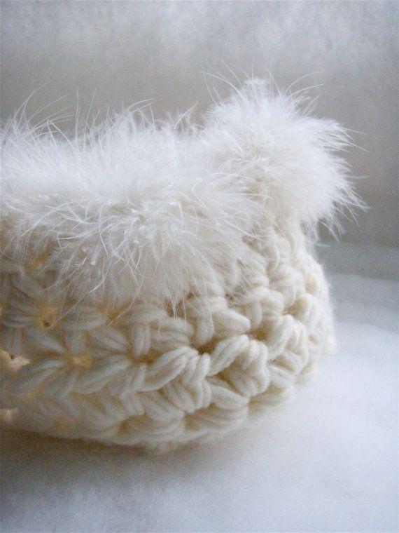 White newborn cocoon basket photo prop Baby cocoon by nerina52