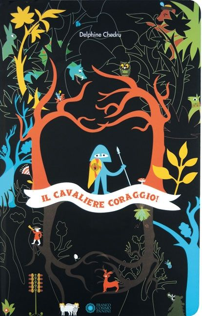 Un libro gioco in cui il bambino è protagonista.  C'è un cavaliere vestito di blu, un pò distratto   che un giorno, attraversando un sentiero,  perde il suo coraggio... al piccolo lettore il compito di percorrere il cammino al suo fianco e di aiutarlo nella ricerca.