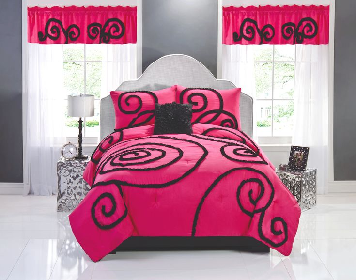 Hot Pink Room best 20+ hot pink bedding ideas on pinterest | pink teen bedrooms