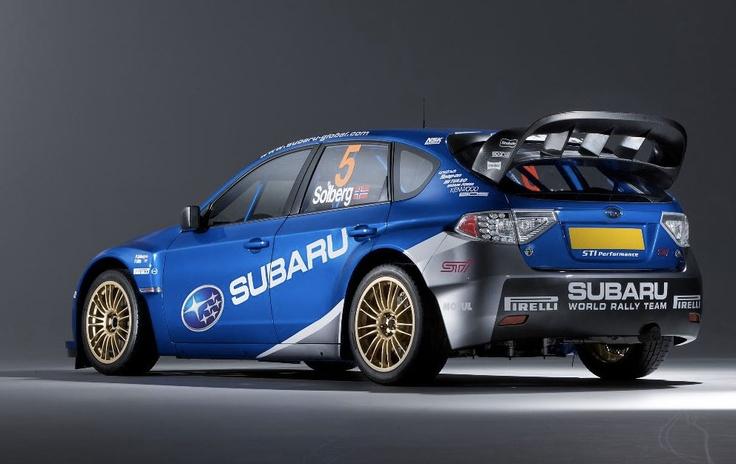 Subaru's Latest World Rally Car