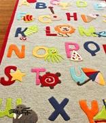 : Kinderloom Alphabet, Area Rugs, Plays Rooms, Kids Rugs, Wool Rugs, Rooms Rugs, Playrooms Idea, Alphabet Rugs, Kids Rooms