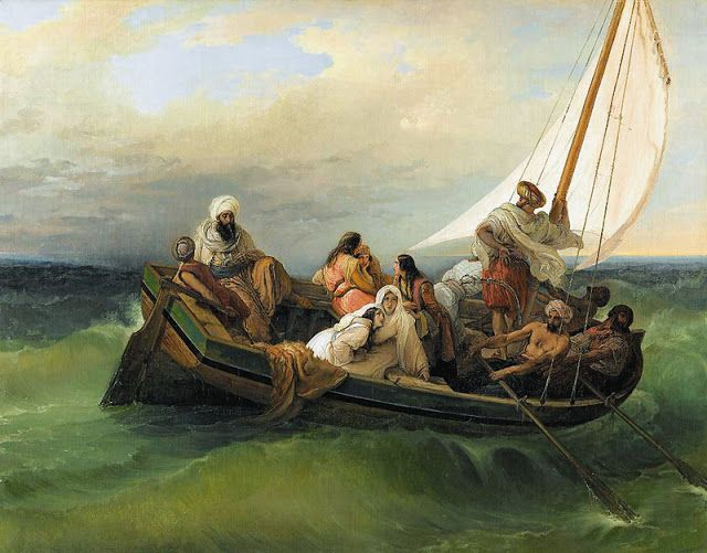 H Φυγή απο τη Χίο (1839)