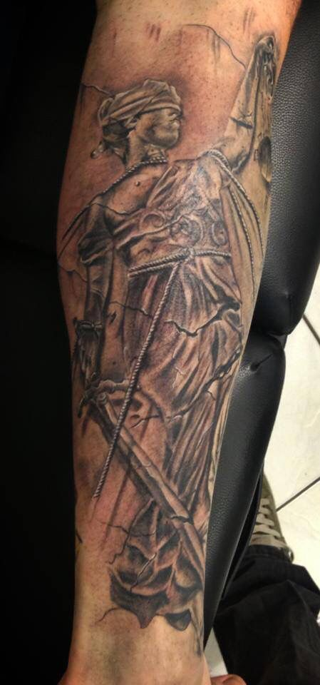 And justice for all tattoo | Tattoos by me | Pinterest ...